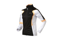Odlo Ladies Jacket RACE white/black/fluor orange